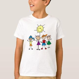 Räcka - in - räcker stick figurT-tröja Tshirts