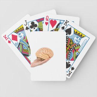 Räcka innehav modellerar människahjärnor som spelkort
