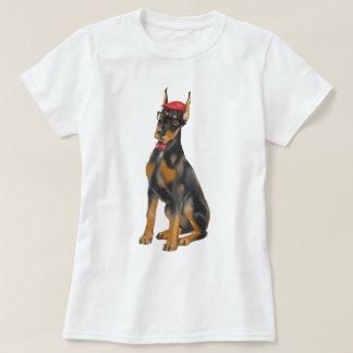 Räcka-målad hund för HipsterDobermanPinscher Tröja