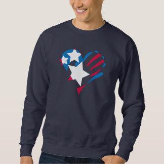 Räcka över din hjärtamörktröja sweatshirt