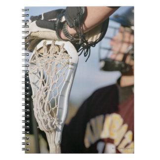 Räcka på en Lacrossepinne Anteckningsbok