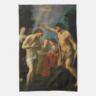 """""""Räcker dop av Kristus"""" handduken Kökshandduk"""