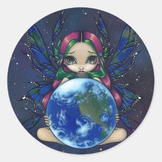"""""""Räcker en värld i bra"""" klistermärken"""