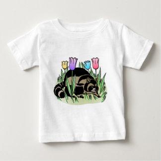 Racoon och tulpan tröjor
