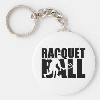 Racquetball Rund Nyckelring