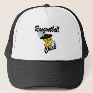 Racquetballchick #4 truckerkeps