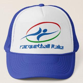 RacquetballItalia hatt Truckerkeps