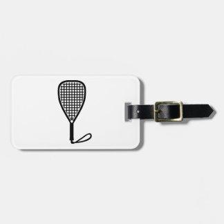 Racquetballracket Bagagebricka