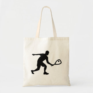 Racquetballspelare Tygkasse