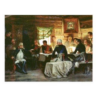 Råd av krig i Fili i 1812, 1882 Vykort