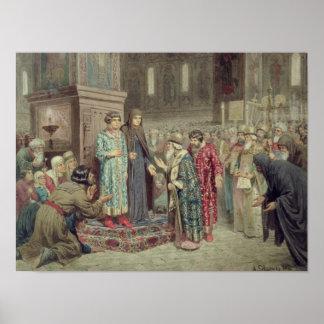 Råd som kallar Michael F. Romanov till Poster