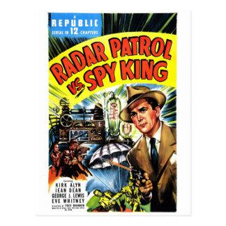 Radarpatrull Vs. spionkung Vykort