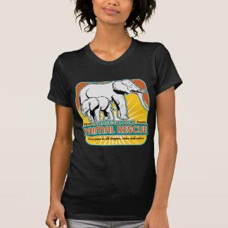 Rädda djurenelefanter t shirts