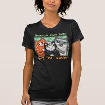 Räddad/skyddkatt T Shirts