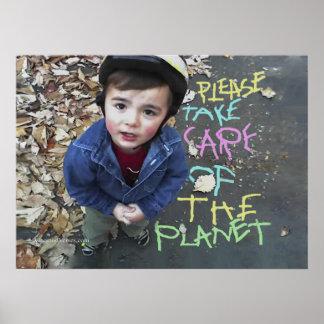 Räddade planeten poster