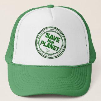 räddade planeten truckerkeps