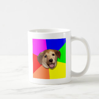 Rådgivninghund Meme, du önskar Any långt som! Vit Mugg
