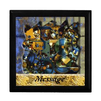 Radikala Steampunk 8 boxas den högvärdiga gåvan Smyckeskrin