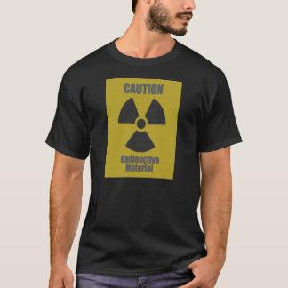 Radioaktiv broderi tshirts