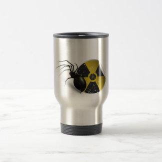 Radioaktiv spindel resemugg