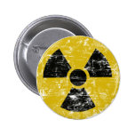 Radioaktiv vintage knappar