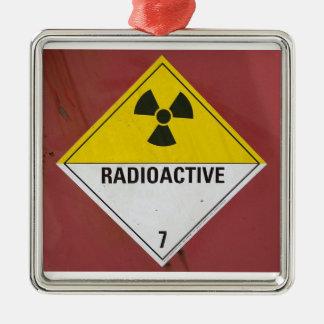 Radioaktivt Julgransprydnad Metall