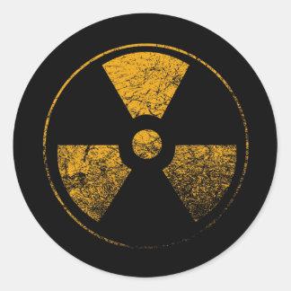 Radioaktivt - klistermärke