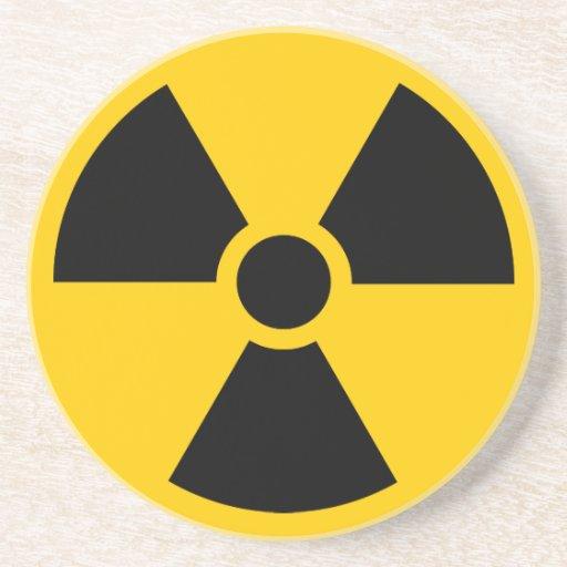 Radioaktivt Glasunderlägg