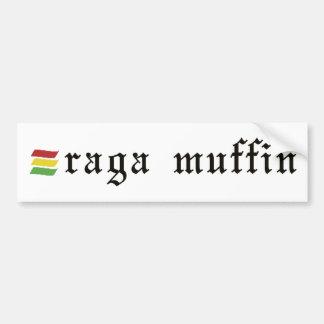 Raga muffinklistermärke bildekal