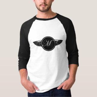 Raglan för sleeve för skjortor för motorcykel T Tee Shirts