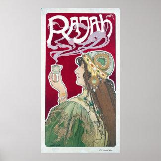 Rajah Tea Poster