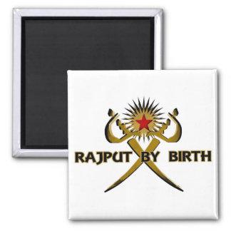 Rajput vid födelseSol-Stjärnan Kylskåpsnagnet