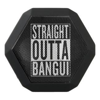rak outta Bangui Svart Bluetooth Högtalare