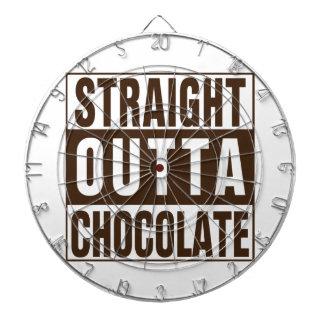Rak Outta brun choklad Dart Tavla