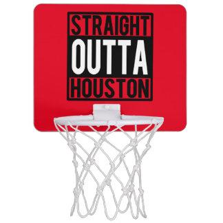 Rak Outta Houston rolig basketring Mini-Basketkorg