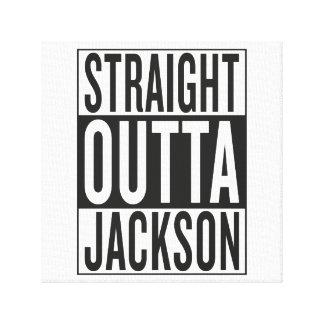 rak outta Jackson Canvastryck