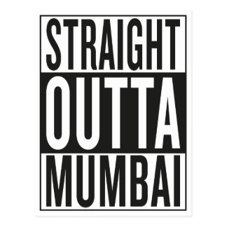 rak outta Mumbai Vykort