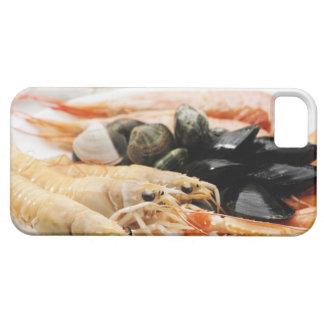 Räka och musslor iPhone 5 Case-Mate skydd