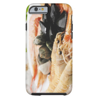 Räka och musslor tough iPhone 6 case