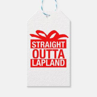 Raka Outta Lapland Presentetikett