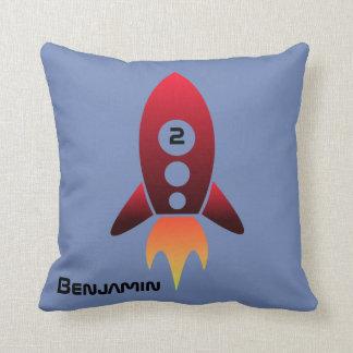Raket dämpar kudde