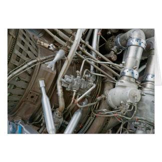 Raketmotor Hälsningskort