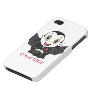 Räkning Cute® iPhone 4 Hud