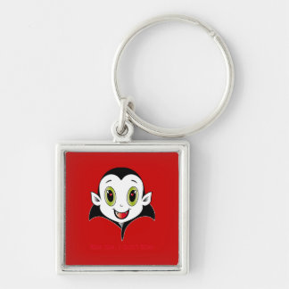 Räkning Cute® Keychain Fyrkantig Silverfärgad Nyckelring