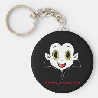 Räkning Cute® Keychain Rund Nyckelring