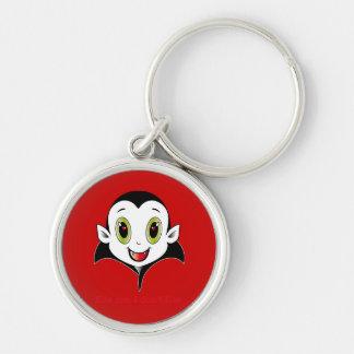 Räkning Cute® Keychain Rund Silverfärgad Nyckelring