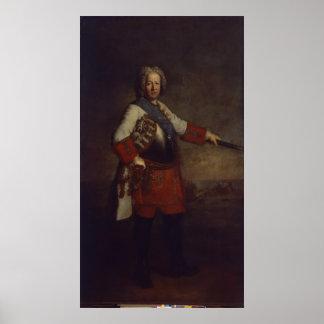 Räkning Friedrich Heinrich von Seckendorf, 1720 Poster