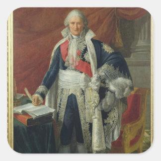 Räkning Jean-Etienne-Marie Portalis 1806 Fyrkantigt Klistermärke
