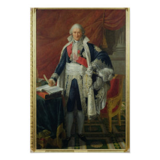 Räkning Jean-Etienne-Marie Portalis 1806 Poster