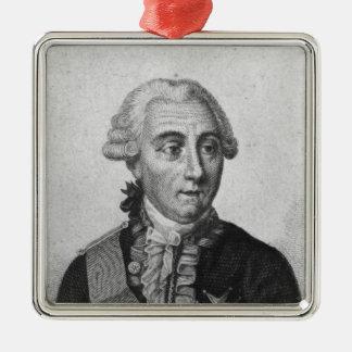 Räkning Louis de Marbeuf 1829 Julgransprydnad Metall